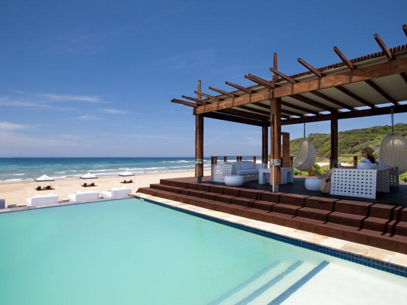 The Beach Bar pool area